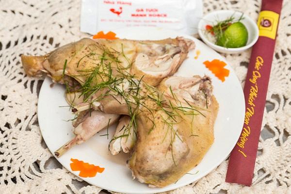 Gà luộc gà tươi Mạnh Hoạch