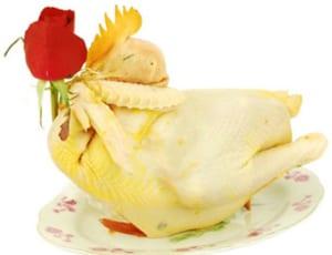 Cách luộc gà cúng giao thừa, cúng tết