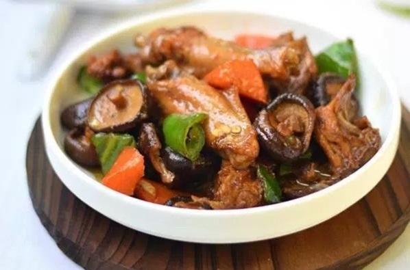 cách làm gà kho nấm