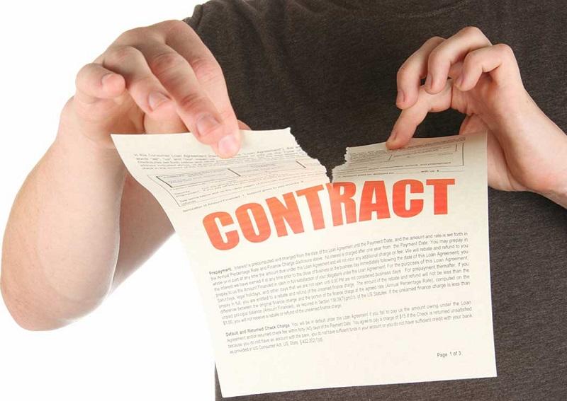 Đơn phương hủy hợp đồng